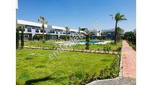 site içerisinde geniş bahçeli havuzlu kiralık dubleks