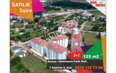 Hak Emlak'tan Gümüşova'da Satılık 3+1 Ara Kat Asansörlü Daire