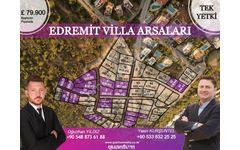 Edremit Villa Arsaları, Tüm Alt Yapısı Hazır, İmarlı Parseller