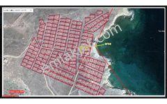 Bozcaada'da Sahibinden Katranbolu koyunda Denize sıfır Arsa