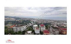 Trabzon Boztepe Deniz ve Doğa Manzarali Tripleks Daire
