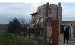 lüleburgaz ayvalı köyünde satılık bahçeli taş villa