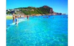 satılık otel Alanya da kleopatra plajı