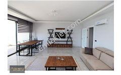 Antalya Alanya kestelde deniz manzarali 3+1 lux daire