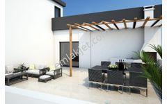 Lefkoşa Ortaköy Bölgesinde Satılık 2+1 Penthouse
