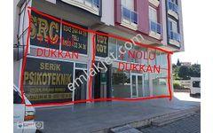 SERİK / GEDİK D-400 KARAYOLU ÜZERİNDE 2 ADET SATILIK DÜKKAN