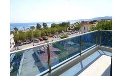İzmir seferihisar ürkmez de deniz manzaralı müstakil yazlık 5+2