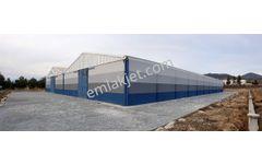 Sahibinden Sahibinden OSB'de 10.000 m2 Arsa üzerine 3.500 m2 Fabrika Binası