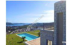 Bodrum Bitez de Satılık  5+2 Ful Deniz Manzaralı Trıblex Villa