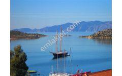 Marmaris Bozburun satılık ana yola cepheli deniz manzaralı tarla.
