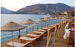 Marmaris Bozburun da satılık denize yakın 770 m2 tarla