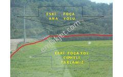 ESKİ FOÇA ANA YOLUNA (100 m ) CEPHELİ VE DERİNLİĞİ OLAN ARAZİ