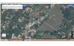 Sahibinden Asfalt yola cepheli köy sınırına çok yakın tek apu tarla