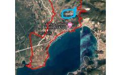 Didim Akbük de Deniz manzaralı acil satılık arsa