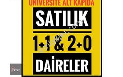 Zonguldak Emlak tan Üniversite ile yan yana 1+1   2+0 Daireler