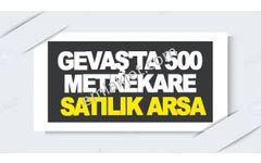 GEVAŞ'TA 500 METREKARE SATILIK ARSA