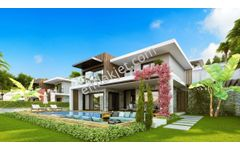 Kuşadasında Deniz Manzaralı Özel Lüks 4+1 Satılık Villalar..!!