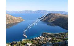 Marmaris Bozburun da satılık denize sıfır 24.000 m2 tarla