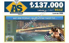 AS Immobilien-YAPRACIK/2+1 86m2 7.KAT 137.000