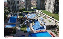 İnnovia2 Havuzlu Güvenlikli Ferah Temiz Eşyalı 1+1 Satılık Daire