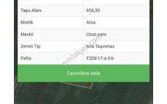 Çanta Mimar Sinanda Acil 656 m2 260 000 tl ye Satılık Arsa