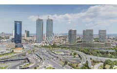 Zincirlikuyu da Kiralık 26 Katlı 25.000 m2 Harika Konumda Plaza