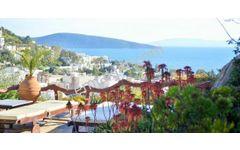 Bodrum Kumbahçe'de Full Deniz Manzaralı 6 Odalı Butik Otel