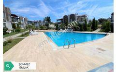 Bitez Havuzlu Site içinde 2+1 Bahçe Katı Eşyalı Daire