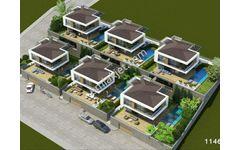 Kuşadası  039 nda Lansmana Özel Satılık 4+1 Lüks Villalar