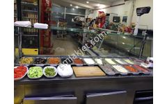 Sahibinden Giyimkentte büfe restoran mini market.
