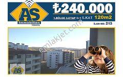 AS Immobilien-SARAYCIK/3+1 120m2 5.KAT ₺240.000 (5314860606)