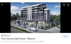 Sahibinden sahibinden Anadolu caddesi uzerinde3 cepheli terasli daire