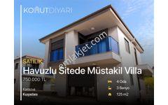 KUŞADASINDA TEK MUSTAKİL 4+1 villa