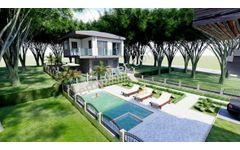 Kuşadası Soğucakta 292 m2 Arsa İçinde Özel Havuzlu 3+1 Villa