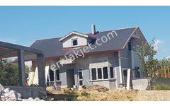 Saros İncisi Sazlıdere de süper manzaralı Sıfır Villa Yazlık