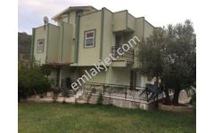 Ahmetbeyli Maydonoz koyunda deniz manzaralı satılık Triplex villa