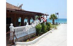 Didim Huzur Sitesinde Denize Sıfır 3+1 Satılık villa