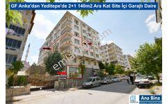 GF Anka'dan Yeditepe'de 2+1 140m2 Ara Kat Site İçi Garajlı Daire