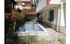 Binevler'de baraj yolunda satılık 4 katlı villa