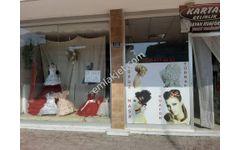 gençosman caddesinde devren satılık dükkan gelinlik kuaför terzi