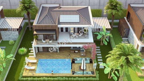Kuşadasında Satılık Özel Havuzlu Manzaralı Lüks Villalar