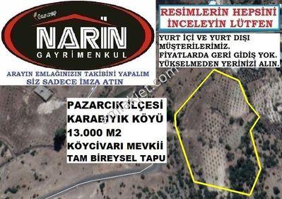 Pazarcık KARABIYIK Köyünde 200 Fıstık 200 Zeytin 200 Badem Manzar