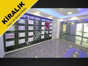 Pendik Plazada Mobilyalı Sekreteryalı Paylaşımlı Fuul Ofis