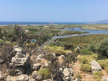 Muğla Dalaman SATILIK Deniz Manzaralı Arazi Ref KoduGDK622
