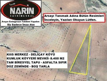 Kilis Merkez DELİÇAY Köyünde Asfalt Sıfır Tarıma Ekime Elverişli