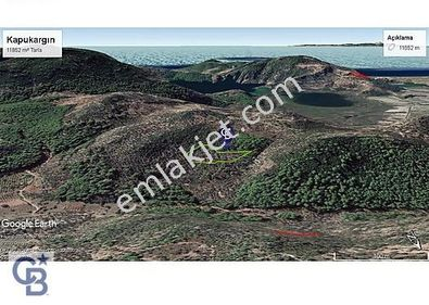 Dalaman Kapukargın'da Satılık 11852 m² Arazi