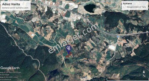 Muğla Menteşede Satılık 6343 m² Tarla