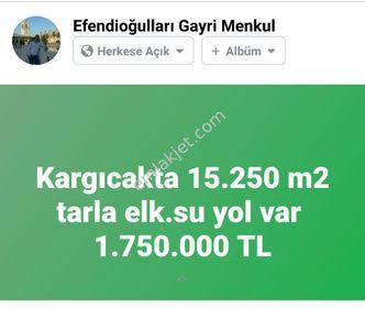 KARGICAKTA FULL DENİZ MANZARALI 15250 M2 RARLA