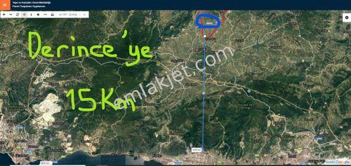 DERİNCE KARAGÖLLÜ'DE YOLLU HARİKA YERİMİZ SATILIKTIR....