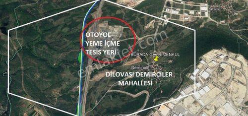 DİLOVASI'NDA 4.000 M² SATILIK SANAYİ DEPOLAMA ARSASI BURADA